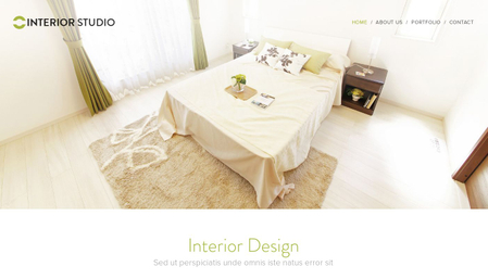 Interior Studio Template