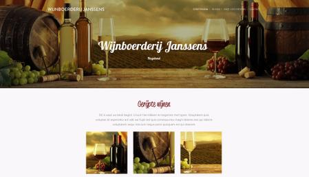 Sjabloon: Wijnboerderij Janssens