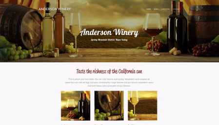 Anderson Winery Template