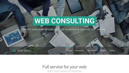 Web Consulting Template