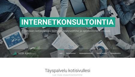 Sivupohja - Web-konsultointi
