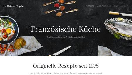 Vorlage: Französische Küche