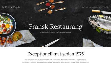 Mall - Fransk Restaurang