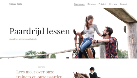 Sjabloon: Manege