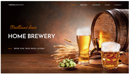 Home Brewery Template