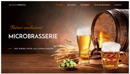 Template Microbrasserie