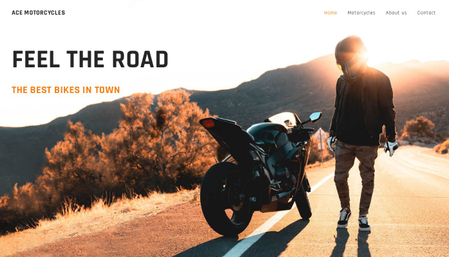 Motorbikes template