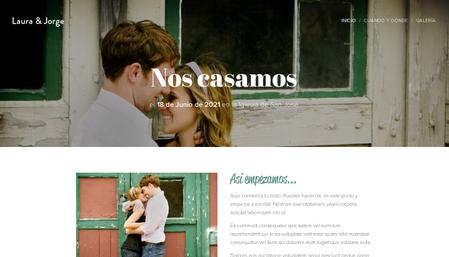 Plantilla - Nuestra boda