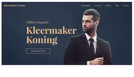Kleermakers Sjabloon