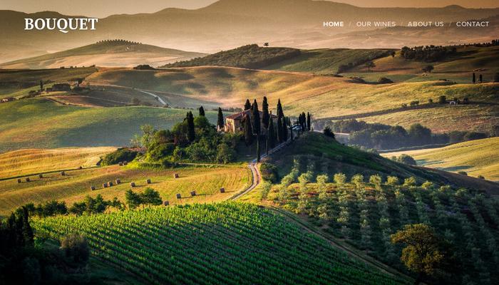 Winery Template - Website template - Webnode