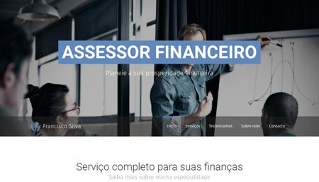 Template para Assessor financeiro