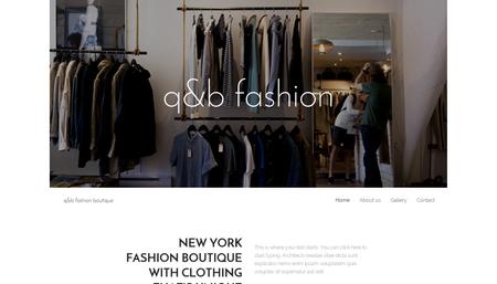 Fashion Boutique Template