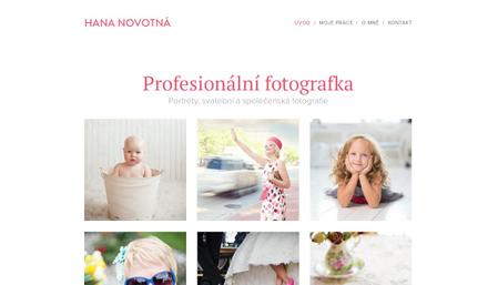 Šablona svatební fotograf