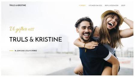 Bryllup nettsidemal