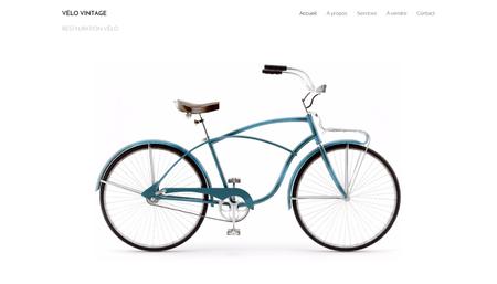 Template Vélo Vintage