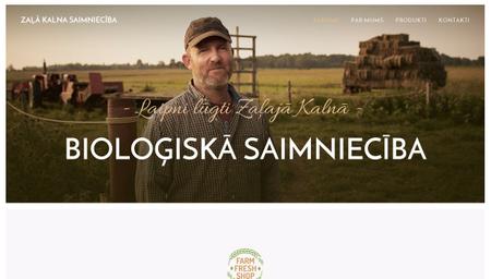 Bioloģiskās saimniecības veidne