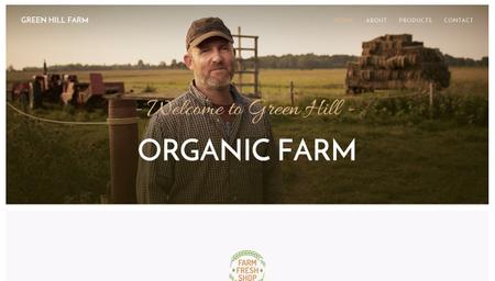 Organic Farm Template
