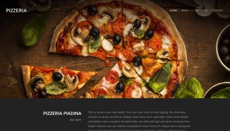 Pizzeria Piadina Template