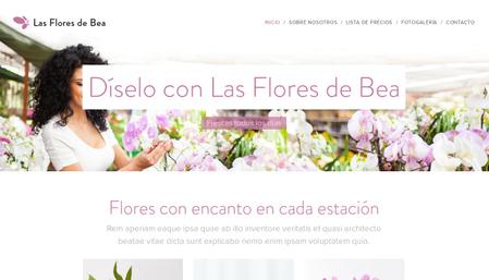 Plantilla - Las Flores de Bea