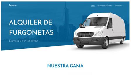 Plantilla - Alquiler de coches