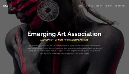 Art association template
