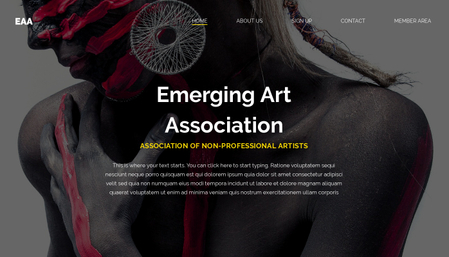 Art Association Template