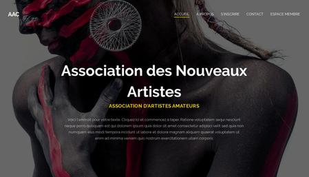 Template Association d'Arts