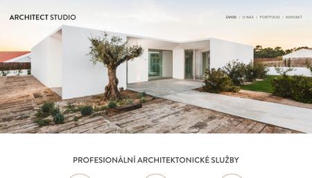 Šablona architektonické studio