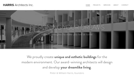 Architectural Studio Template