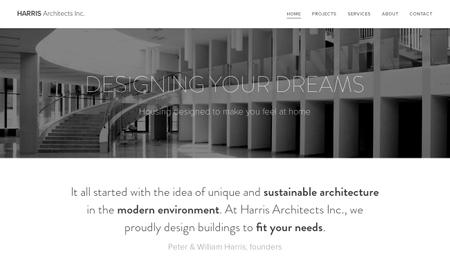 Architectural Studio Template