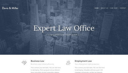 Law Office Template