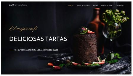 Plantilla Café Selva Negra
