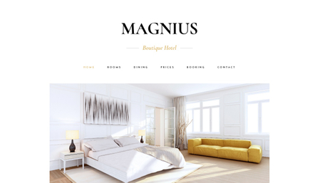 Boutique Hotel Template
