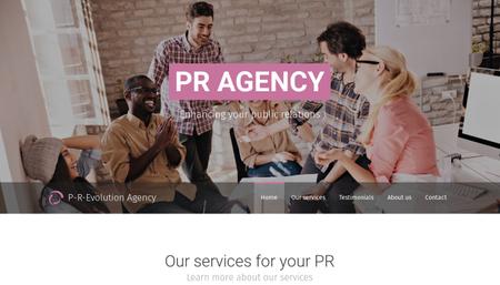 PR Agency Template