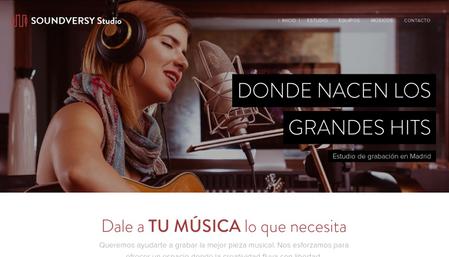 Plantilla - Estudio de Música