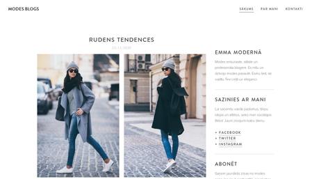 Modes blogs