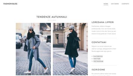 Modello - Fashion blog