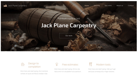 Carpentry Template