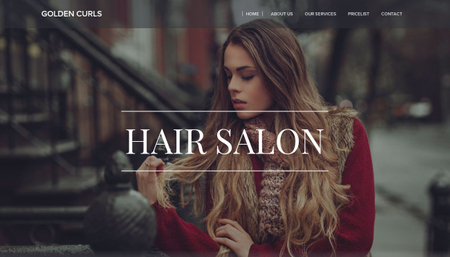 Hair Salon Template