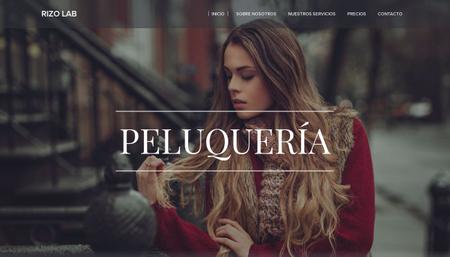 Plantilla - Peluquería