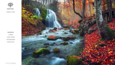 Természeti park sablon