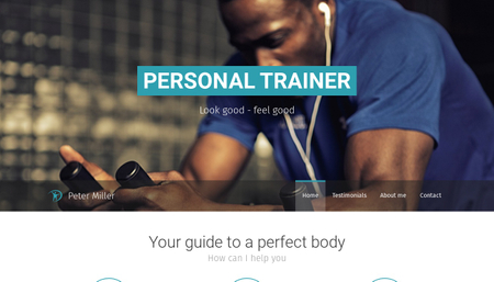 Personal Trainer Template