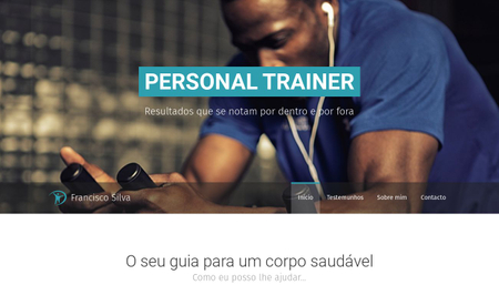 Template Personal Trainer