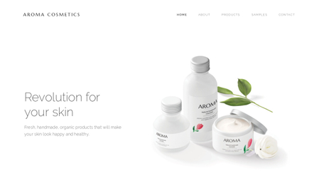 Cosmetic brand template