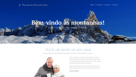 Template Hotel Montanha