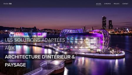 Template Atelier d'architecture