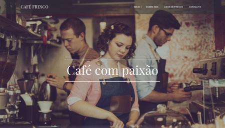 Template Café Fresco