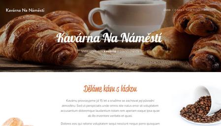 Šablona: Kavárna Na Náměstí