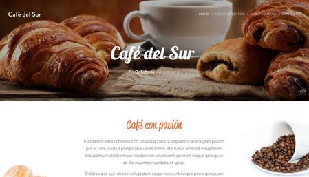 Plantilla - Café del Sur