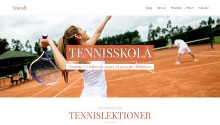 Mall - Tennisskola